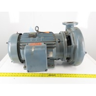 "Baldor Goulds 14BF2P5E0 25Hp 1760RPM 3Ph 230/460V 4""x3""x13"" 1600GPM Motor Pump"