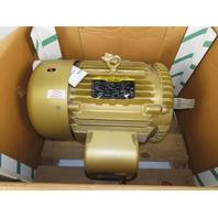 Baldor EM4104T 30Hp 1760RPM 3Ph 230/460V 286T Frame Electric AC Motor TEFC