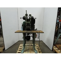 "Milford Model 5500 1/3Hp 208-460V Double Headed Self Piercing 1/8""Rivet Machine"