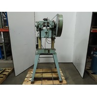 "Perkins Model 2A 3/4Hp 230/460V 10 Ton 2"" Stroke 10-1/2"" Shut OB Punch Press"
