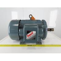 Baldor EM4111T 25Hp 1180RPM 230/460V 3Ph 60Hz 324T Frame Electric AC Motor TEFC