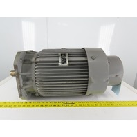 Fuji MPF2165G 11kW 200V 50/200Hz 1500/6000RPM Dual Speed Induction Motor 160M