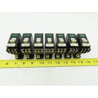 Izumi NRC-111 10A 5A 7A-AA 250VAC 50/60Hz Circuit Breaker Lot Of 7