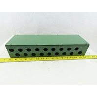 """15-3/4"""" x 4-3/4"""" x 3"""" 18 Port Junction Electrical Hydraulic Valve Box"""