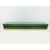 """25-1/2"""" x 4-3/4"""" x 3"""" 18 Port Junction Electrical Hydraulic Valve Box"""