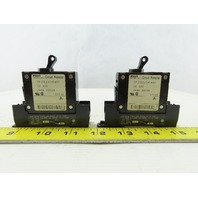 Fuji CP31E/7.5WDC 7.5A 60VDC Circuit Breaker With Base Lot Of 2