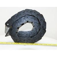 "Tsubaki TKP0450-1B 1-1/2"" x 1"" Nylon Cable Carrier Energy Drag Chain 36"""