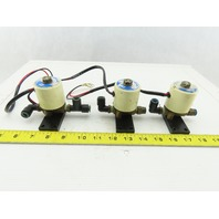 "SMC VTW2105 0-10 PSI 24VDC 1/4"" Solenoid Valve Lot Of 3"