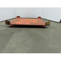 "Heavy Duty 52""x48"" Pallet/Basket Material Handling 360° Turn Table 4-1/2"" High"