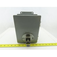"Hoffman A-8066CH 8""x6""x6"" Electrical Enclosure Wall Mount W/Back Plate"