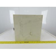 """Nito 821917 Box 15-3/4"""" x 15-3/4"""" x 6-3/4"""" Hinged Door Electrical Enclosure"""