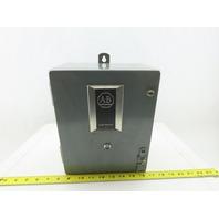 Allen Bradley 509-AOD Ser B Size 0 Motor Starter 120V Coil W/Type 12 Enclosure