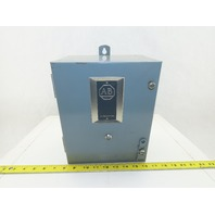 Allen Bradley 509-AOD-A2G Size 0 Motor Starter 120V Coil W/Type 12 Enclosure
