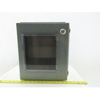 14x12x6 Hinged Door Electrical Enclosure Cabinet W/Backplate