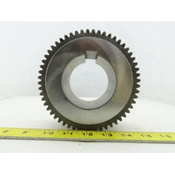 "M6B-2 144.50mm OD x 50mm Wide 56 Tooth Spur 8mm Pitch Gear 2-7/8"" Bore"