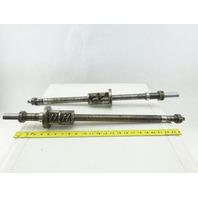 Kitako MT4-170 28mm OD x 700mm Ball Screw Lot Of 2