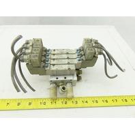 SMC SY5340-5DZE Pneumatic Manifold Solenoid Valves 24DC
