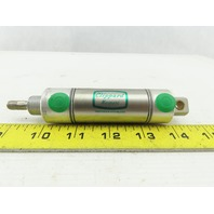 """Clippard UDR-17-1 1-1/16"""" Bore 1"""" Stroke Double Acting Air Cylinder"""