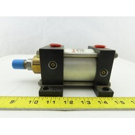 """Norgren A0977B1 2-1/2"""" Bore 1"""" Stroke 400 PSI Double Acting Air Cylinder"""