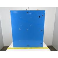 "SCE 42EL3608LP 42""x36""x8"" Wall Mount JIC Electrical Enclosure W/Back Plate"