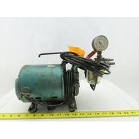 Electric Vacuum Pump 115V 1Ph Pulls -20 Vac. 1/6Hp