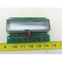 IEE 03601-85-040 Vacuum Fluorescent Display Module