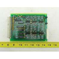 Crown 104636 REV K Sensor Amplifier Circuit Board Card