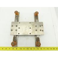"THK SSR20 Linear Guide Rail Assembly W/2 Bearings & 8-3/4"" Rail"