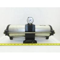 SMC VBA4100-04 0-10 Bar 1.0MPa Output Pneumatic Air Pressure Booster Regulator