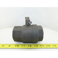 "NIBCO 2""NPT Brass Ball Valve 600 CWP 150 SWP Full Flow"