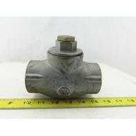 "North American 1807-3 2-1680 Orifice Metering Valve 1-1/2"" NPT"