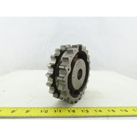 "Rexnord 815-21T 401-160 #815 Table Top Chain Sprocket 21 Teeth 1"" Bore"
