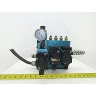 Mac 6311D-211PM-111DA Pneumatic Manifold 3 Valve Assembly 120V