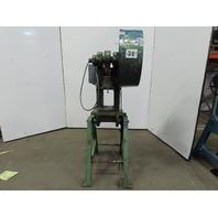 """Alva Allen BT12-101 Mechanical 12 Ton OBI Punch Press 10"""" Open 5"""" Throat 1HP 3Ph"""