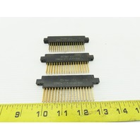 Cinch 253-18-00-254 50-36F-10-1 36 Pin Female Card Edge Connector Lot Of 3