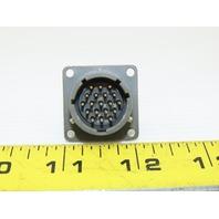 ITT Cannon MS3112E14-19P 19 Pin Solder Cup Circular Connector