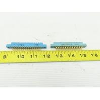 Viking 2VK15D/1-2 30 Pin Solder Eyelet Card Edge Connector Socket Lot Of 2