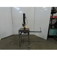 """BTM P-5-IIx3"""" T-150 5 Ton 3"""" Stroke Air Toggle Punch Press W/Stand"""