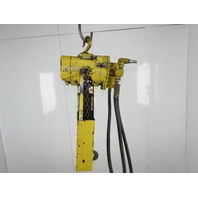 "Ingersoll Rand ML 10 1/2 Ton 1000LB Air Pneumatic Chain Hoist 14'6"" Lift"