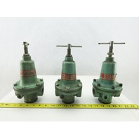 "Numatics R50R-08 1"" NPT Air Pressure Regulator Lot Of 3"
