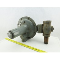 "Equimeter Type STD 1-1/2"" NPT 6""-14"" Spring 3/4""-10° Orifice Vented Regulator"