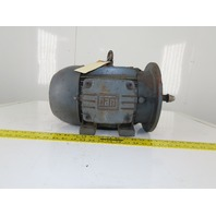WEG 5HP Vertical Electric Motor 184HP Frame 208-230/460V 3Ph 1740RPM