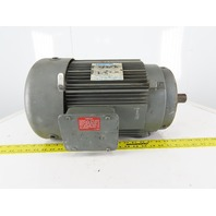 Marathon 10HP Electric Motor 208-230/460V 3Ph 215TC Frame 1740RPM