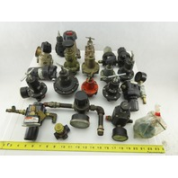 "Watts F602-03BJ Huge Mixed Lot 3/8"" NPT Regulators Filters Lot Of 20+ Pieces"