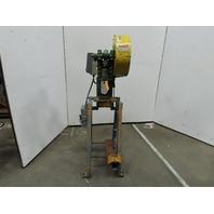 "Alva Allen BT5 Mechanical 5 Ton OBI Punch Press 1-1/4"" Stroke 4-1/4"" Throat 3Ph"