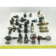 """Wilkerson R00-01-000 Huge Mixed Lot 1/8"""" NPT Regulators Filters Lot Of 25+ Pcs."""