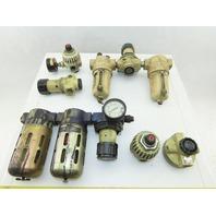 """Norgren F12-400-A3DA 1/2"""" NPT Filter Lubricator Regulator Mixed Lot Of 6"""