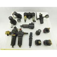"Norgren R72R-2AK-RMN 1/4""  NPT Filter Regulator Lubricator Mixed Lot 12"