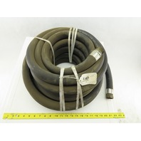 "1"" PVC Hose 150 PSI 1-1/2"" NPT Male Female Ends 50'"