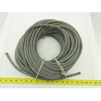 "1/4"" ID PVC  Steel Braided Reinforced Hose 120'"